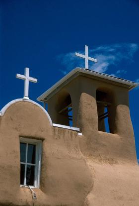 St Francis de Asis Chapel— Rancho de Taos, New Mexico