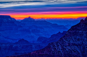 November dawn, Grand Canyon from Mather Point (2002)