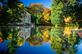 Pond at Andover, Massachusetts