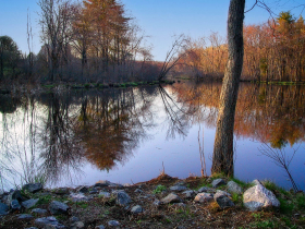 The Concord River, Concord, MA