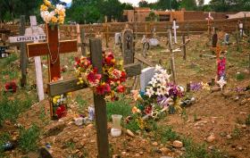 Cemetery, Taos Pueblo, New Mexico