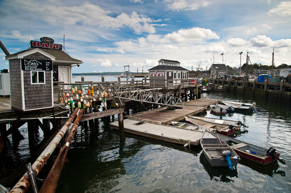 Jake's Bait, Plymouth Harbor, MA, October