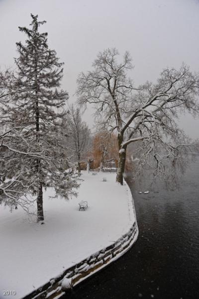 Island Park, Geneva, IL, December