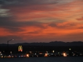 Sunset at the Barstow McDonalds, April