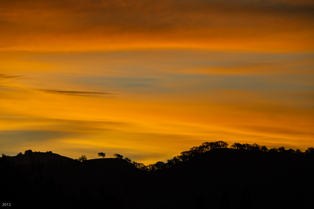 November Dawn; Diablo Foothills