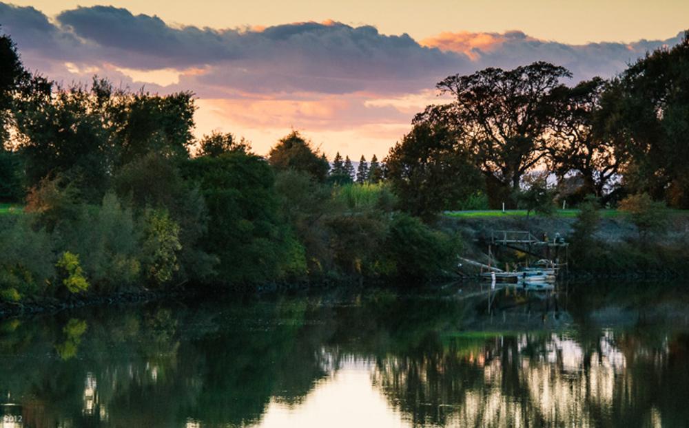 Dock: Sacramento River
