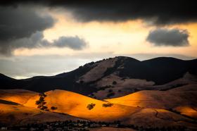 Afternoon Light on Lime Ridge