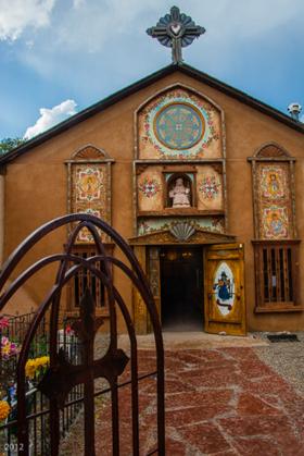 Santa Nino Chapel; Rancho de Chimayo, NM