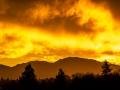 January Dawn over Mt. Diablo