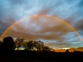 February Rainbow over the Diablo Valley