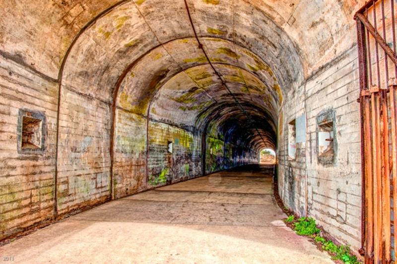 Artillery Tunnel: Marin Headlands