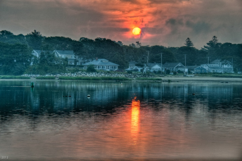 Sunrise Over Parkwood Beach - Wareham, MA