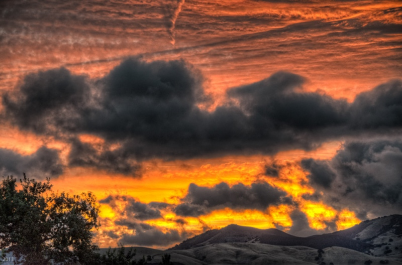 September Sunrise: Ygnacio Valley, Walnut Creek, CA