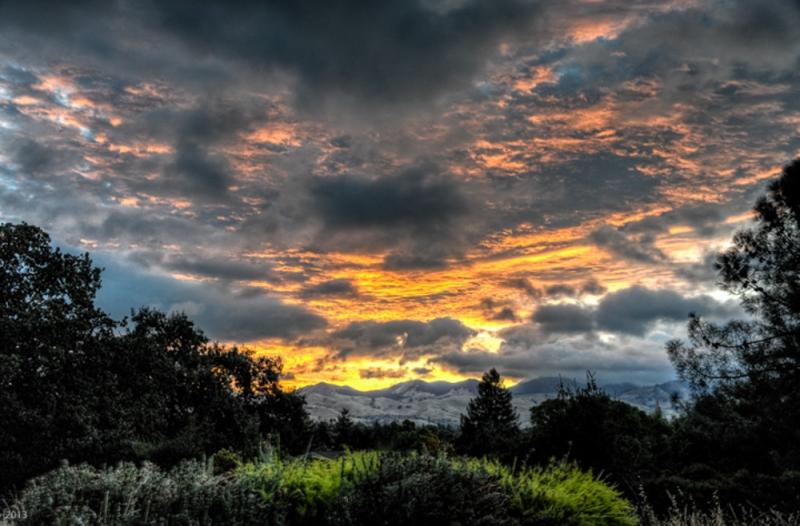 Cloudy Dawn - Ygnacio Valley- Walnut Creek, CA