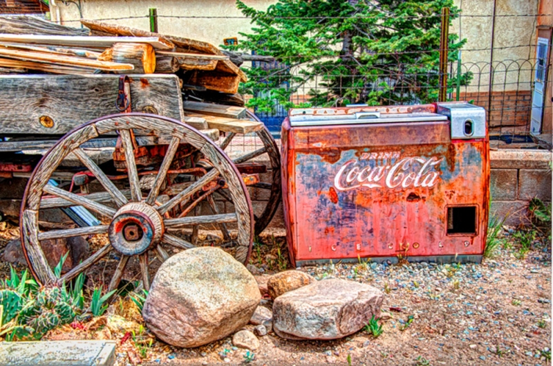 Coke Machine, Rancho de Chimayo, NM