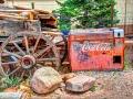 Coke Machine, Rancho de Chimayo, NM