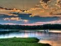 Sunset Over Broadmarsh, Wareham, MA