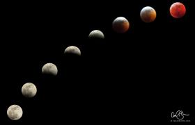 Jan 20: Lunar Eclipse
