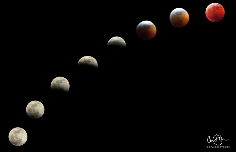 Jan 20: Lunar Eclipse