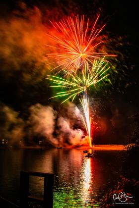 July 4: Fireworks, Hamilton Beach MA