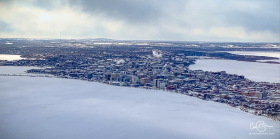 Jan 29: Madison WI From the Air