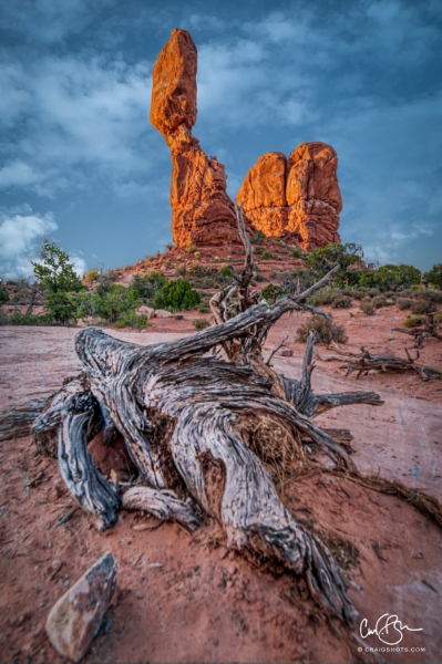 July 19:  Balanced Rock, Arches National Park