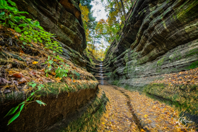 Oct 23: Dead End Canyon, Starved Rock State Park, Illinois