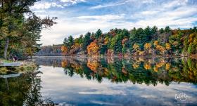 Oct 26: Mirror Lake State Park, Wisconsin