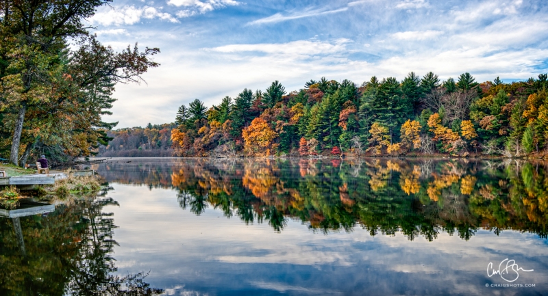 Oct 26: Mirror Lake State Park, Wisconsin