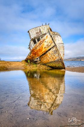 Nov 8: Shipwreck Near Inverness, CA
