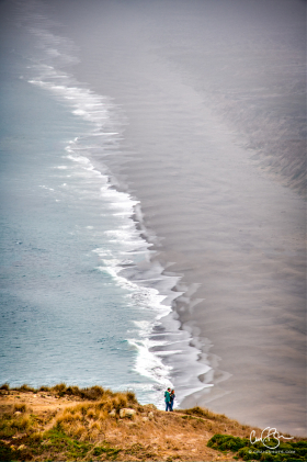 Nov 8: View From South Beach Overlook, Point Reyes National Seashore