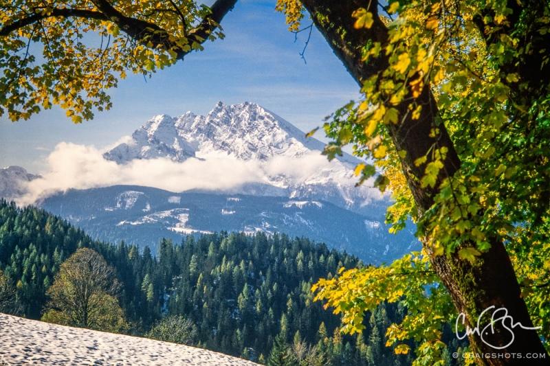 Tyrolian mountain peak (whose name I've forgotten)