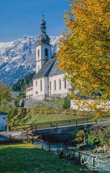 Parish church of St. Sebastian, Ramsau bei Berchtesgaden, Germany