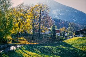 Alpine walk near Kitzbuhel, Austria