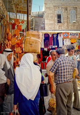 Jerusalem bazaar.