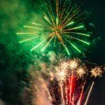 An Illegal Fireworks Show