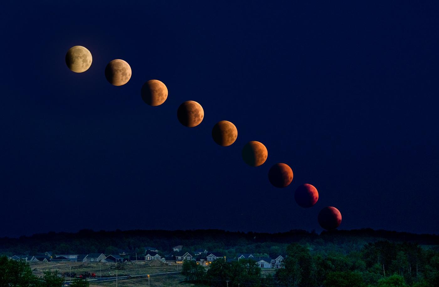 A Lunar Eclipse — May 26, 2021